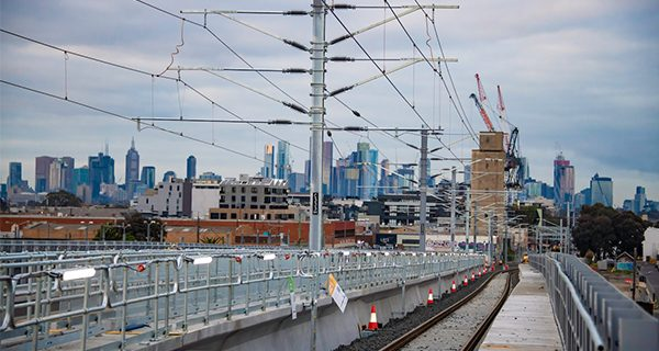 Victoria's largest level crossing removal construction blitz is on its way to be completed two weeks ahead of schedule.