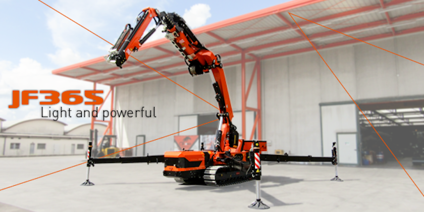 Jekko launches more compact crawler crane - Inside Construction