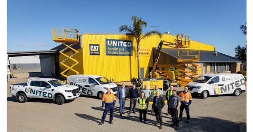 United Forklift and Access Solutions set for major growth in SA