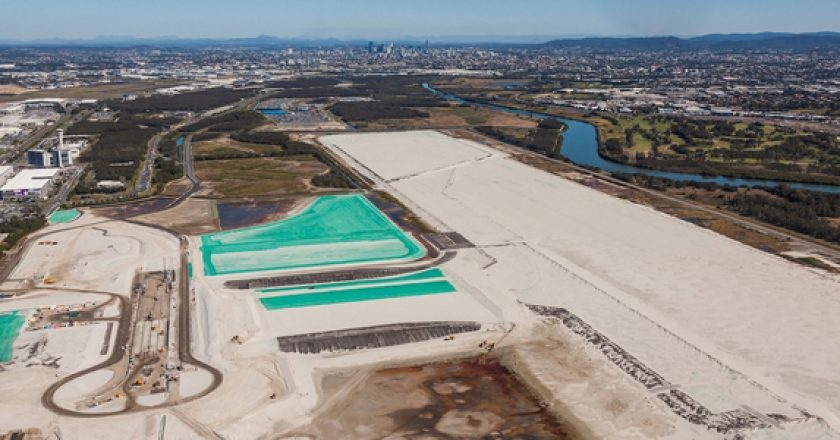 Brisbane's new runway project into final phase