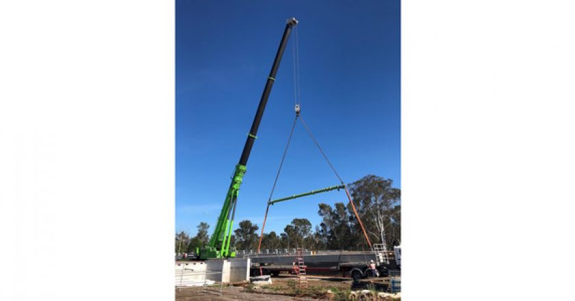 Efficient program of lifts at Schofields Road Stage 3