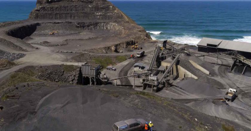 Blackhead Quarries - improving plant flexibility, energy efficiency and safety