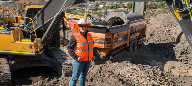 Changing the face of construction - Brisbane woman leads the shift