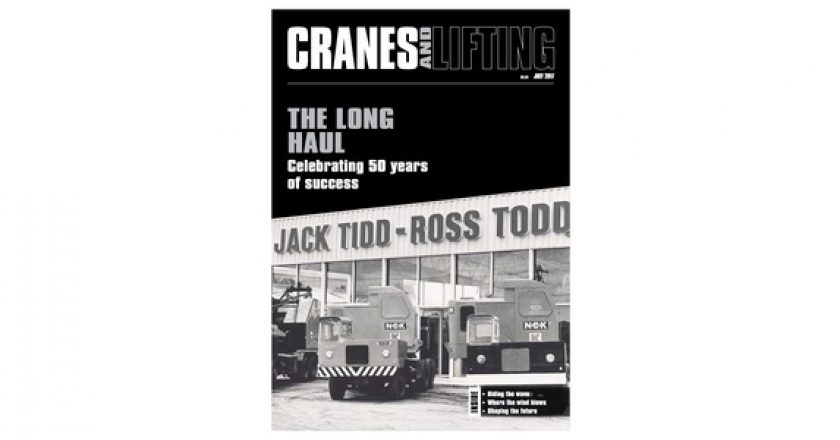 Cranes and Lifting (July): 50 years of progress and innovation for TRT
