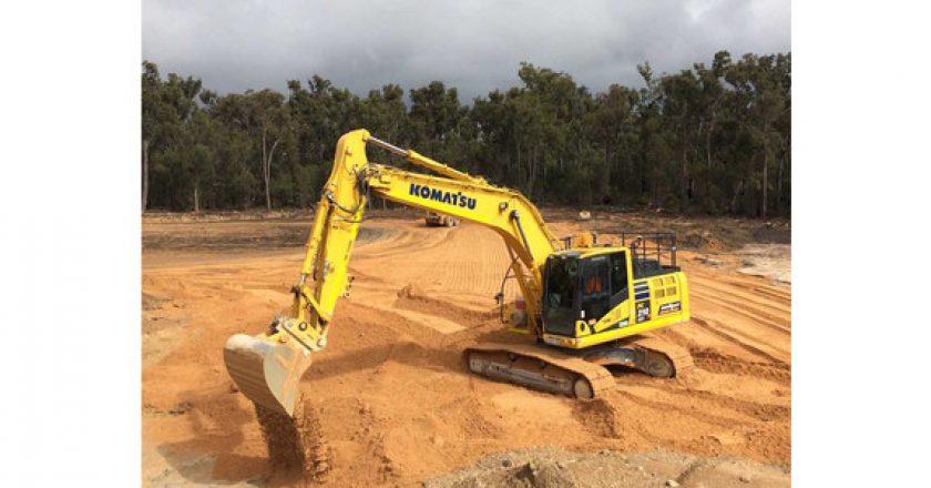 "Australia's first Komatsu ""intelligent"" excavator proves its worth for WA contractor"