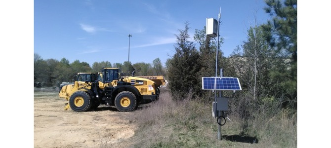 How solar powered RFID can monitor assets on remote sites