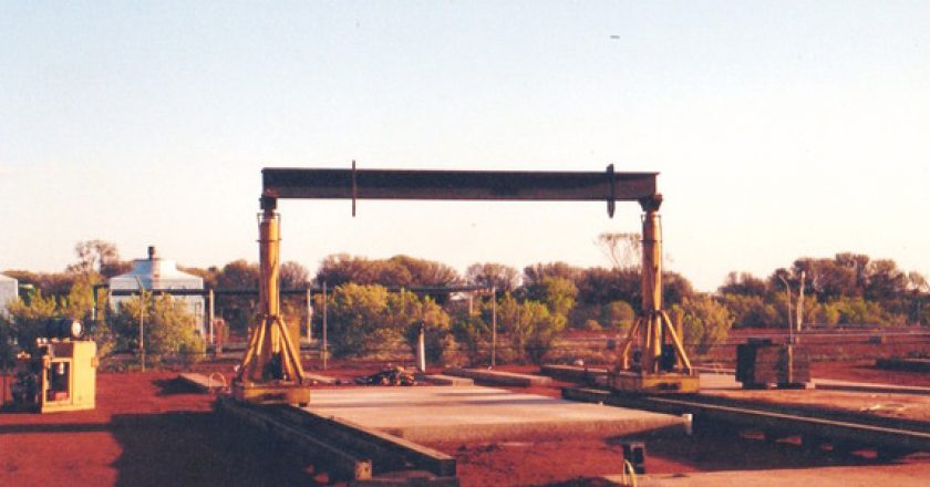 Gantry system pioneer reflects on early project in Alice Springs