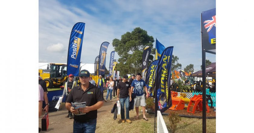 Earthmoving and construction takes centre stage at DDT Expo 2018