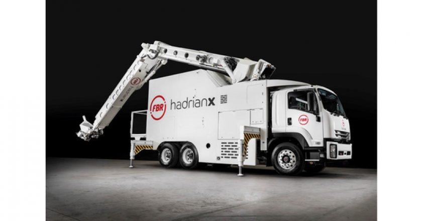 Hadrian X construction robot complete