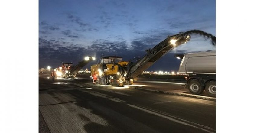Rebuilding one of Europe's busiest airports