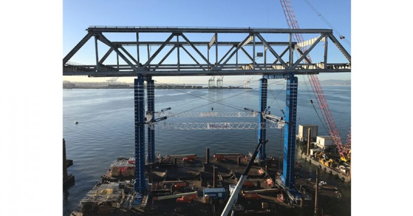 Case study: tackling a huge bridge lift on the Pacific Rim of Fire