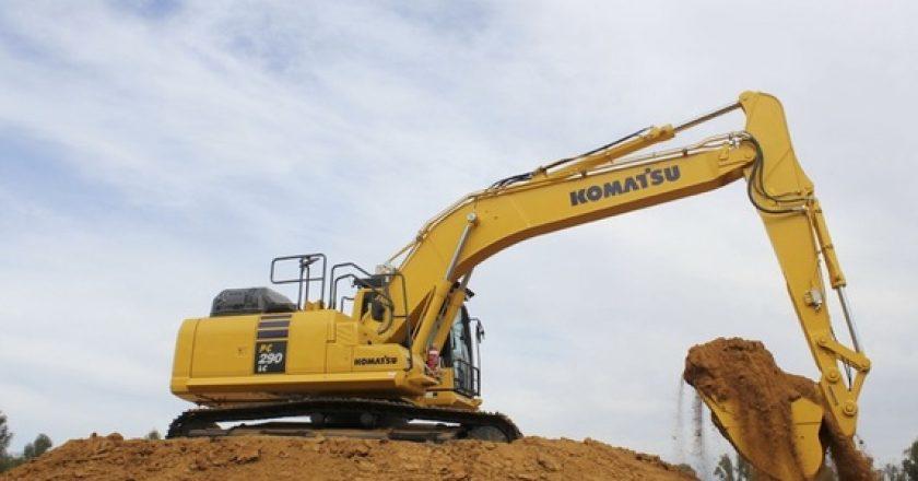 Komatsu launches three low emissions excavators