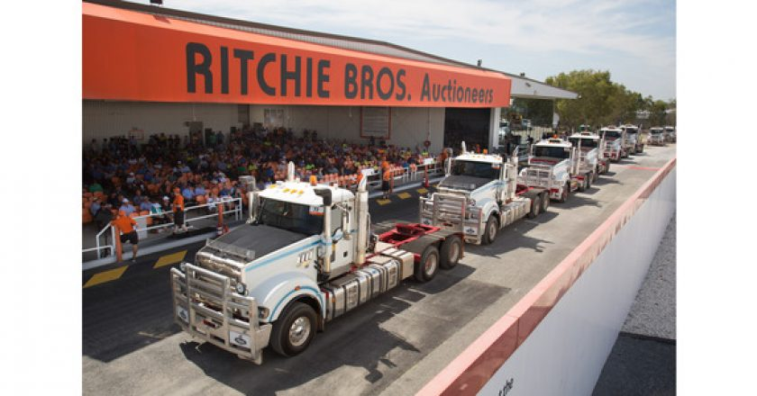 Brisbane auction sees construction and transport markets hit high gear