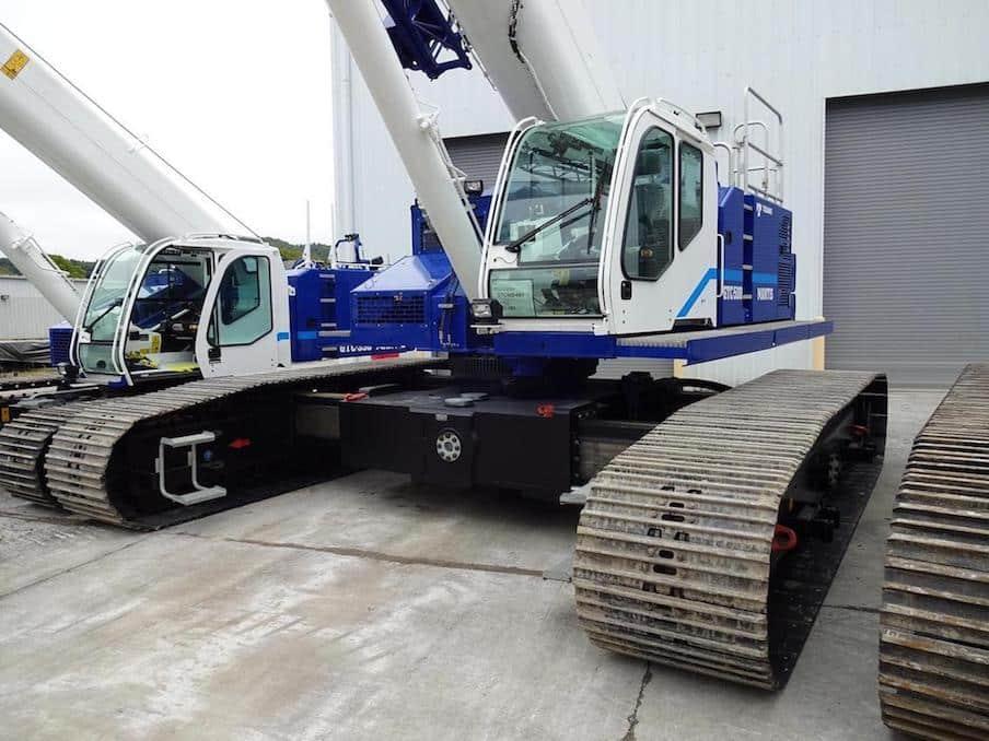 Tadano Mantis release new GTC-500 crane - Inside Construction