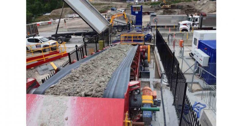 Innovative conveyor systems developed for quarry backfill