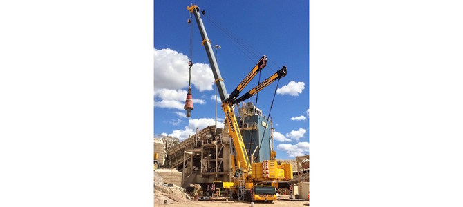 Wagstaff Crane and RedList lifts heavy industry with cutting edge tech