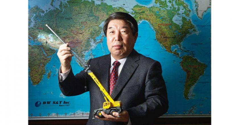 Re-inventing Korea's crane market