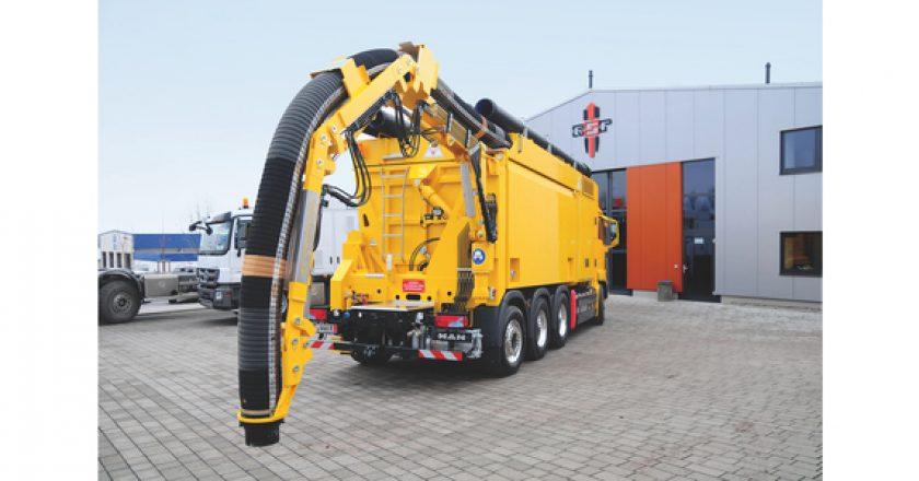 Spoutvac delivers dry suction excavation