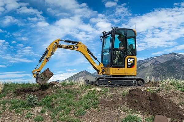 Mini but mighty: Cat's next generation mini excavators