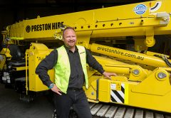 Mike Thomas, Group Operations and Systems Manager at Preston Hire
