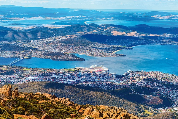 City of Hobart, tasmania