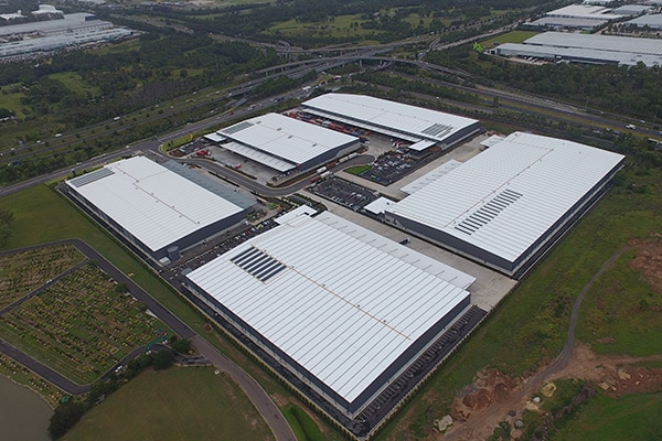 Inside Construction speaks to Richard Seddon, Mirvac's General Manager Industrial, about the construction of its new logistics hub in Western Sydney.