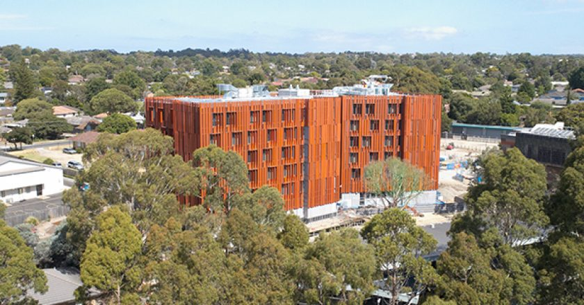 A new student accommodation complex is the first large scale building in the southern hemisphere to achieve Passive House certification.