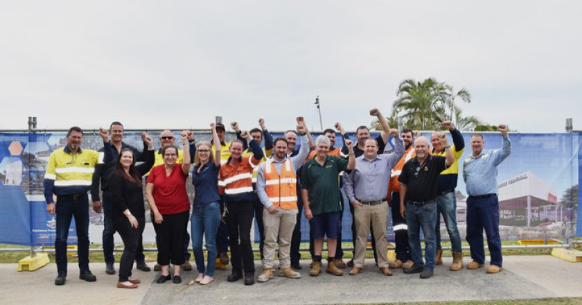 A Queensland based construction company has been selected to deliver the next stage of the $25.9 million East Shores precinct upgrade, with 28 local subcontractors engaged.