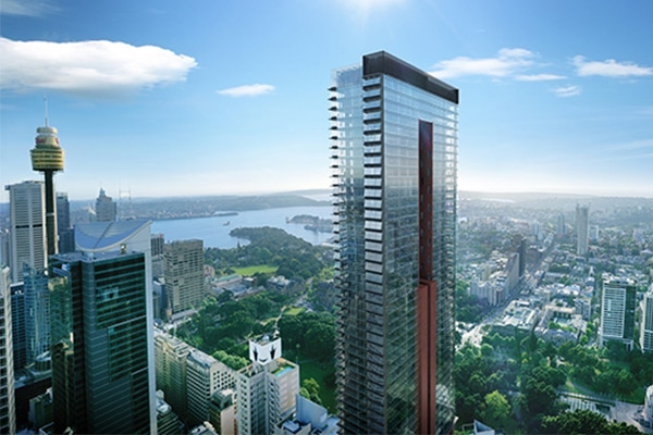 Sydney's skyline is set to receive its new tallest residential tower, with high-rise developer Greenland Group approved to construct a 235-metre-high building.