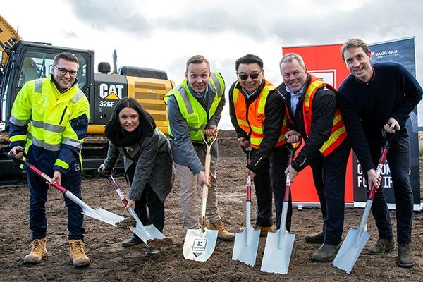 Construction has begun on German supermarket Kaufland's $255 million distribution centre (DC) in Mickleham, Victoria.