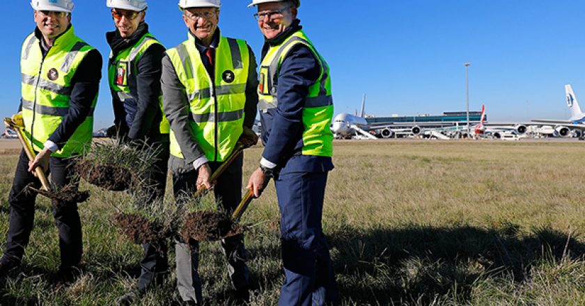 Ground has been broken on Melbourne Airport's biggest upgrade project since it opened in 1970.