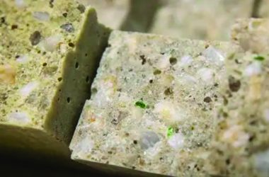 Ground recycled glass can be used as a substitute for sand when making polymer concrete, according to researchers from the Deakin School of Engineering.
