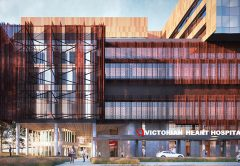 More than 1700 construction jobs are set to be created after the Victorian Government's selection of a builder for the Victorian Heart Hospital.