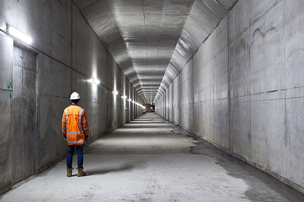McConnell Dowell has reached a major milestone on the construction of a new rail tunnel in Auckland, New Zealand.