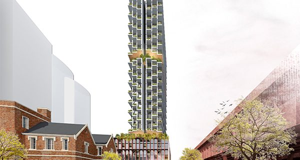 The City of Melbourne has signed a deal with developer PDG Corporation to build a 110-metre-tall vertical village in Southbank.