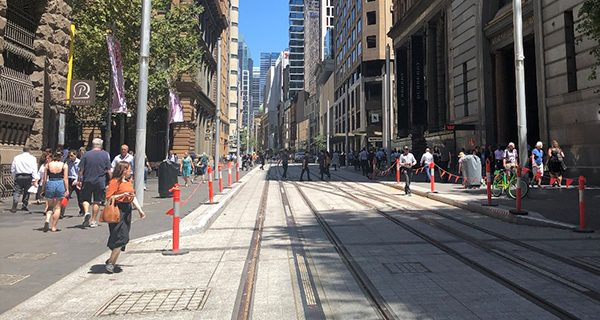 Construction on the Sydney's $2.7 billion Light Rail project is progressing, with the New South Wales government releasing several updates on the Surry Hills, Moore Park, Kensington and Kingsford upgrades.