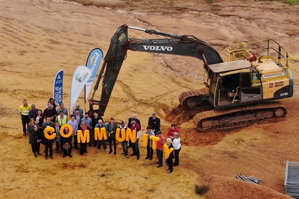 ADCO Constructions has turned the first sod on a project that has been 40 years in the making.