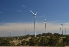 Downer has won an $80 million contract for works at the Bango Wind Farm project in New South Wales.