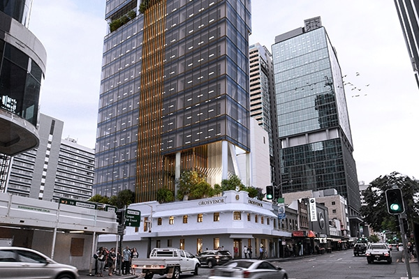 Brisbane City Council has approved a development application to turn a 135-year old heritage building into a 30-stroey, multi-use commercial tower, which would be one of the narrowest in the city.