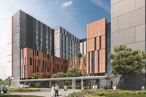 The New South Wales Government has awarded the main works contract to build the Prince of Wales Hospital's new Acute Services Building as part of the $720 million Randwick Campus Redevelopment.