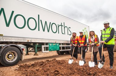 Construction works have begun on Woolworths' new $135 million Melbourne Fresh Distribution Centre (MFDC) in Truganina, in the city's west.