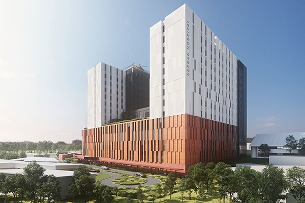 A contract worth $379 million to deliver the first stage of construction for New South Wales' Nepean Hospital Redevelopment has been awarded.