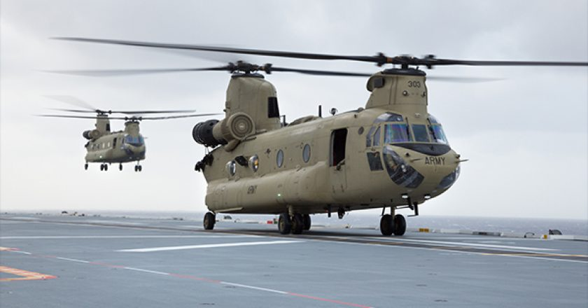 The Department of Defence has awarded a contract to build new facilities and infrastructure to support three additional Chinook Helicopters for the 5th Aviation Regiment at RAAF Base Townsville.