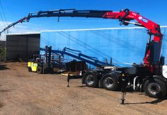 September brought with it not just the end of a season, but the start of a new era in lifting with final testing complete on the new HMF 4020K6-FJ600 truck mounted crane, being commissioned for BSA Transport in Brisbane.