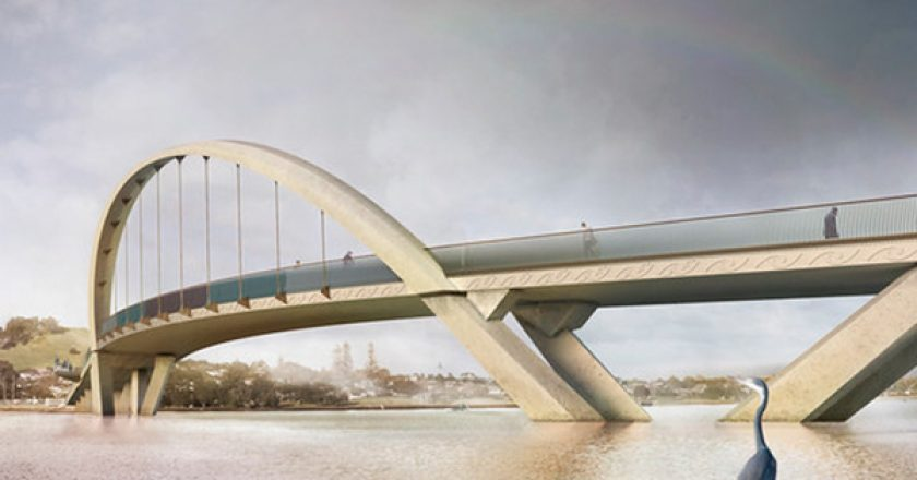 The New Zealand transport agency has awarded the $38 million contract to replace the Old Māngere Bridge, with construction to start before the end of the year.