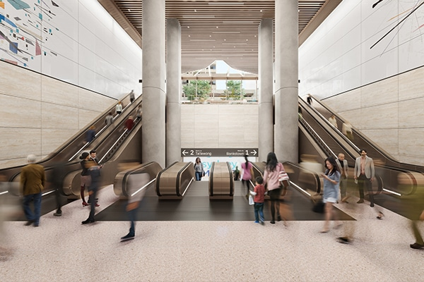 The New South Wales Government has awarded a $463 million contract to design and build the Sydney Metro Pitt Street Station.