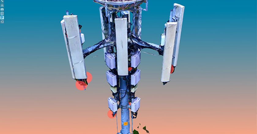Telstra contracted SiteSee to find an alternative way to inspect its cell towers to reduce operating costs and safety risks using AI and 3D models.