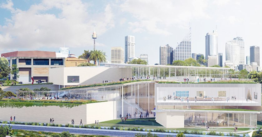A contractor has been selected to build the Art Gallery for New South Wales Sydney Modern Project, which remains on track to be delivered within its $344 million budget.