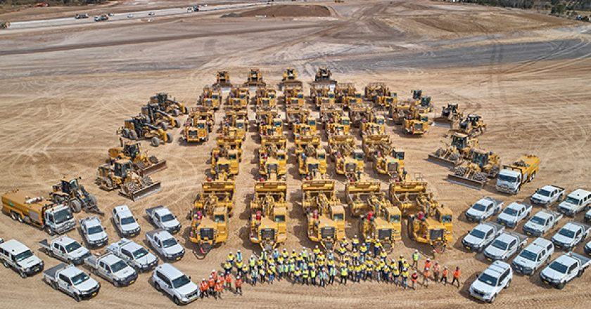 Since construction began last year on the Western Sydney Airport, contracts have delivered tens of millions of dollars to local subcontractors and businesses.