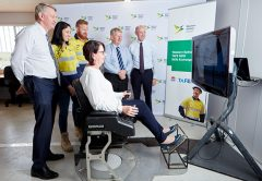 Construction workers will be able to improve their skills while building the Western Sydney International Airport due to a partnership with TAFE New South Wales.
